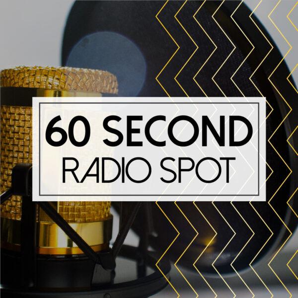 Masnachol Radio -: 60 eiliad