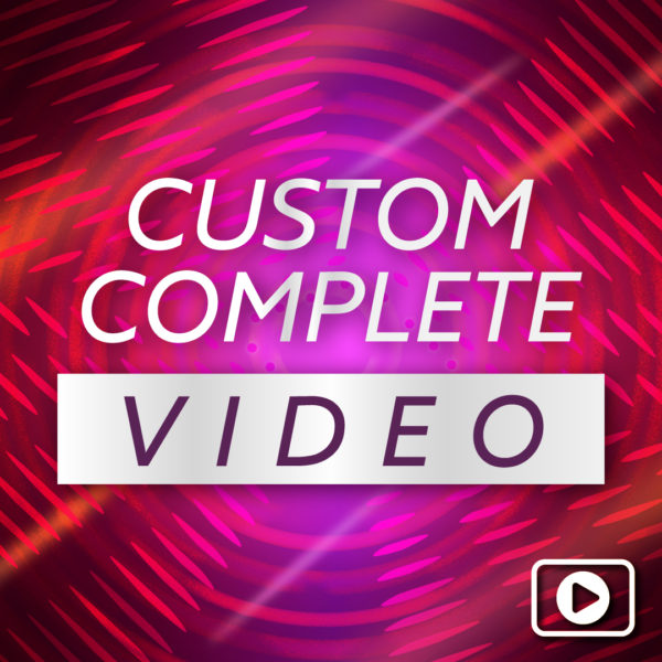 Complete Custom Countdown Video – NYE 2020
