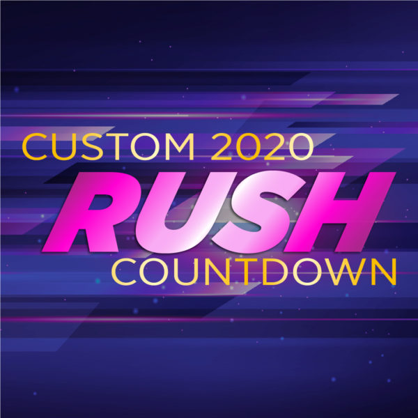 রাশ কাস্টম কাউন্টডাউন - NYE 2020